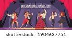 international dance day... | Shutterstock .eps vector #1904637751