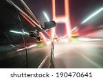 car on the road with motion... | Shutterstock . vector #190470641