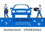 Car Repair Service Banner...