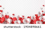 valentine special offer heart... | Shutterstock .eps vector #1904898661
