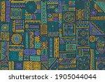 hipster african vector seamless ...   Shutterstock .eps vector #1905044044