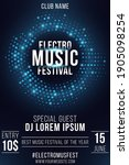 electro music festival. party...   Shutterstock .eps vector #1905098254