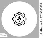 energy icon sign vector symbol  ...   Shutterstock .eps vector #1905146464