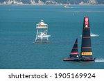 Waitemata Harbour  Auckland ...