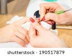manicure treatment | Shutterstock . vector #190517879