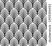 vector seamless pattern.... | Shutterstock .eps vector #1905204451