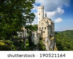 castle of lichtenstein  | Shutterstock . vector #190521164
