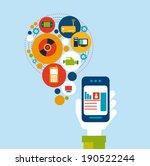 technology design over blue...   Shutterstock .eps vector #190522244