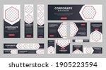 abstract banner design web... | Shutterstock .eps vector #1905223594