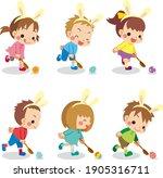 Illustration Of Little Children ...