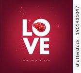 happy valentine's day.  ... | Shutterstock .eps vector #1905431047