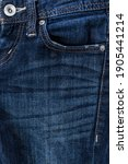 Small photo of jeans rivets and buttons,jeans pocket