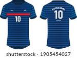 sports jersey t shirt design...   Shutterstock .eps vector #1905454027