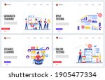 online training education...   Shutterstock . vector #1905477334