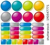 buttons | Shutterstock .eps vector #190547771