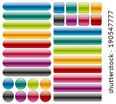 buttons | Shutterstock .eps vector #190547777