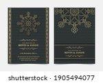 elegant mandala wedding...   Shutterstock .eps vector #1905494077