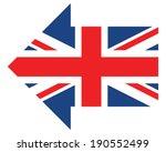 union jack | Shutterstock .eps vector #190552499