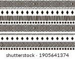 ethnic vector seamless pattern. ... | Shutterstock .eps vector #1905641374