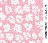 tender floral polka dot pink...   Shutterstock .eps vector #190565375