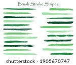 retro ink brush stroke stripes...   Shutterstock .eps vector #1905670747