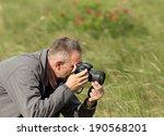 photographer in action  flower...   Shutterstock . vector #190568201