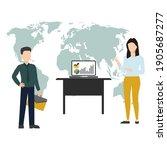 vector illustration of... | Shutterstock .eps vector #1905687277