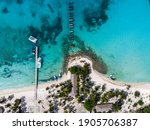 Aerial Drone View Of The...