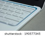 white laptop | Shutterstock . vector #190577345