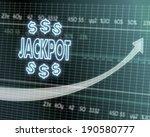 successful investmanet chart... | Shutterstock . vector #190580777