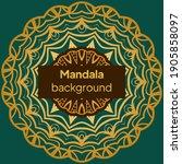 mandalas. decorative round... | Shutterstock .eps vector #1905858097