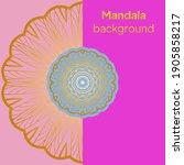 mandalas. decorative round... | Shutterstock .eps vector #1905858217