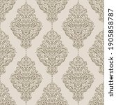seamless pattern with luxurious ... | Shutterstock .eps vector #1905858787