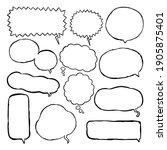 vector eps. hand drawn line art ...   Shutterstock .eps vector #1905875401