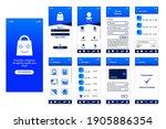 design ui shopping app for...