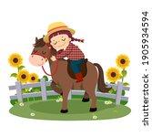 vector illustration cartoon of... | Shutterstock .eps vector #1905934594