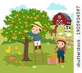 vector illustration cartoon of... | Shutterstock .eps vector #1905934597