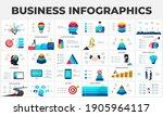 big set of infographic elements....   Shutterstock .eps vector #1905964117