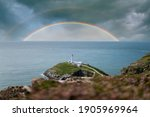 Colourful Double Rainbows In...