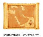 old vintage middle east  ... | Shutterstock .eps vector #1905986794