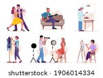 creative people set isolated... | Shutterstock .eps vector #1906014334