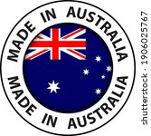 made in australia icon  circle... | Shutterstock .eps vector #1906025767