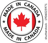 made in canada icon  circle... | Shutterstock .eps vector #1906025971
