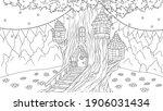 vector illustration  fantasy... | Shutterstock .eps vector #1906031434