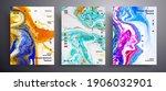 abstract vector poster ... | Shutterstock .eps vector #1906032901