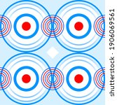 seamless geometrical pattern.... | Shutterstock . vector #1906069561