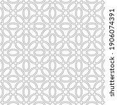 vector seamless pattern. modern ...   Shutterstock .eps vector #1906074391