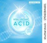 hyaluronic acid  skin solutions ...   Shutterstock .eps vector #1906084681