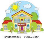 school | Shutterstock .eps vector #190623554