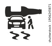 do not drink and drive icon....   Shutterstock .eps vector #1906245871